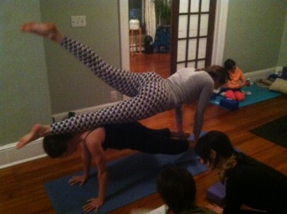 AcroYoga Kingston New York The Yoga House Hudson Valley