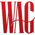 The Wag Mag logo red text on a white background