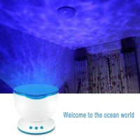 Ocean Waves Night Light Ceiling Projector | The Yoga ...