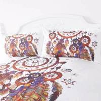 Feathers Dreamcatcher Bedding Set (3 pcs) | The Yoga ...
