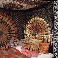How To Hang A Tapestry From The Ceiling In 4 Steps   The ...