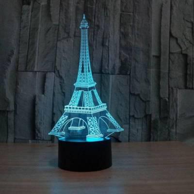 Optical Eiffel Tower ILLUSION LIGHT