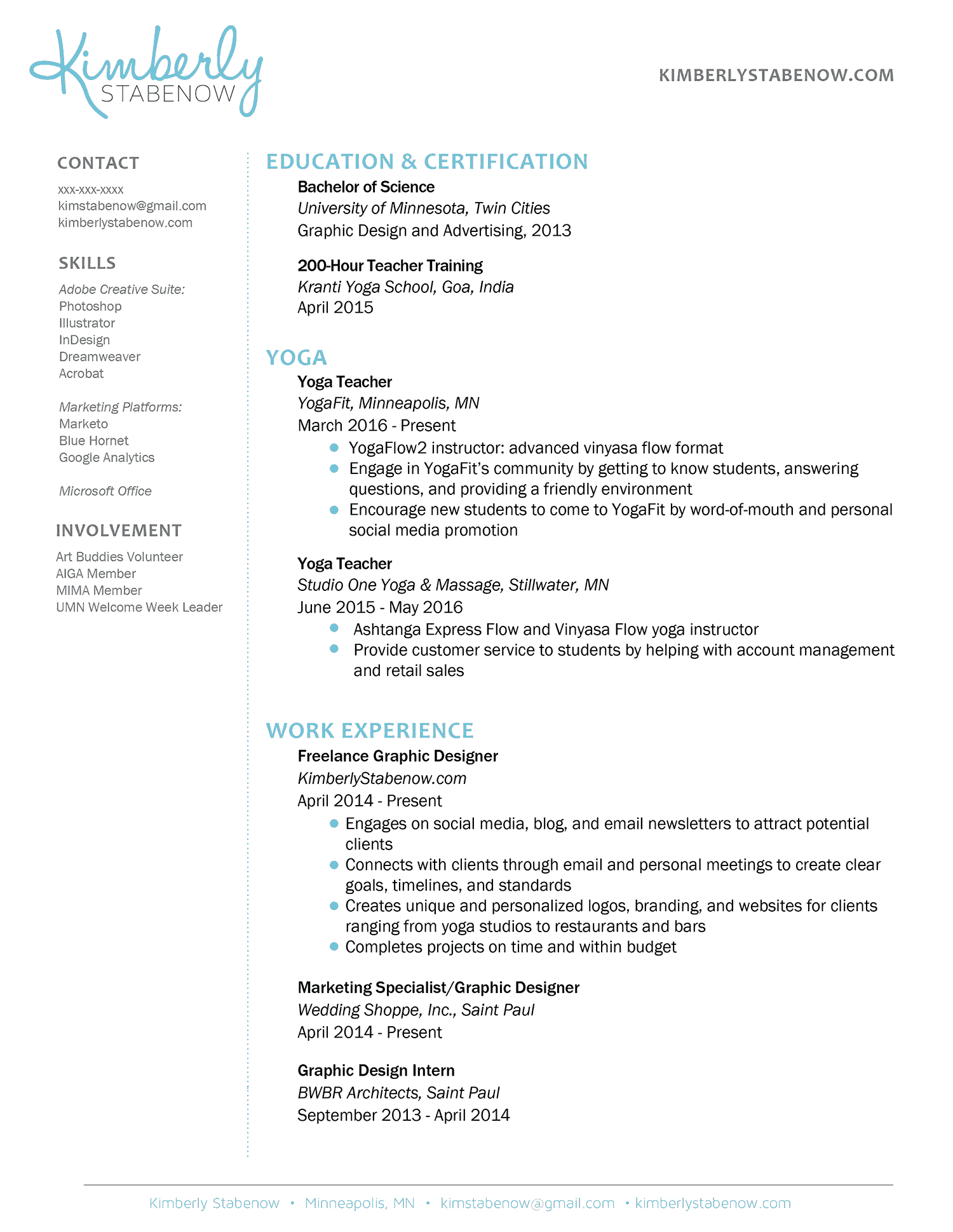 Teacher Resume Examples How To Create The Perfect Yoga Teacher Resume The Yoga