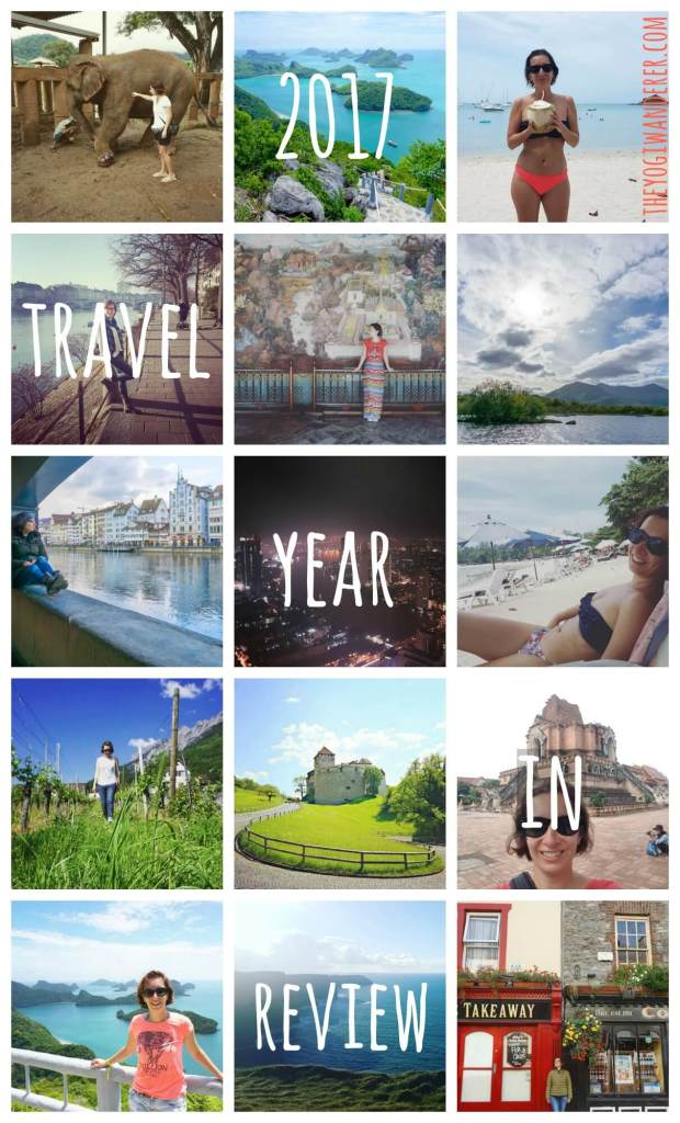 My 2017 travel year in review