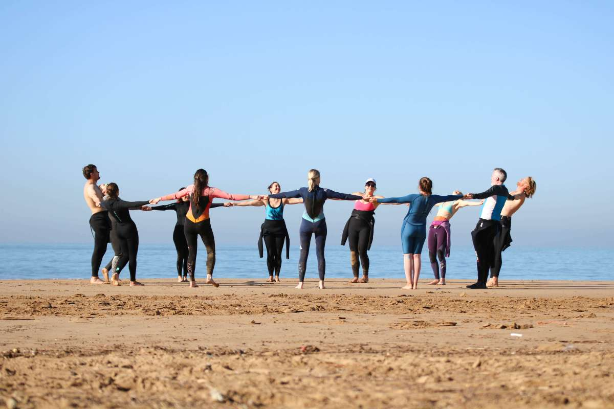 Yoga and surf camp in Morocco (or how Morocco taught me about patience)