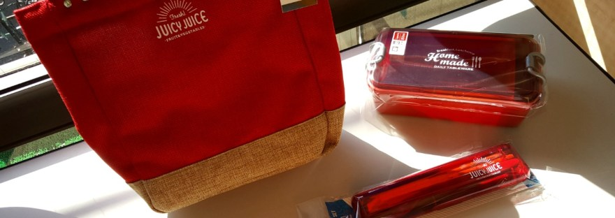 Bento Style Lunch Boxes for Adults - Red Set