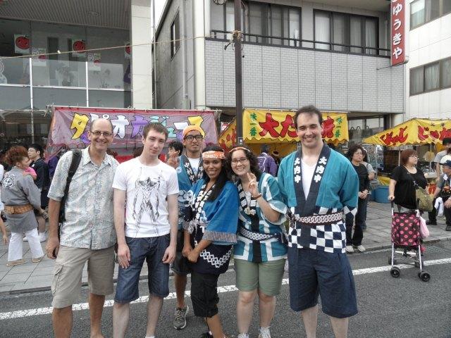 Spending Money Per Day in Japan - Festivals