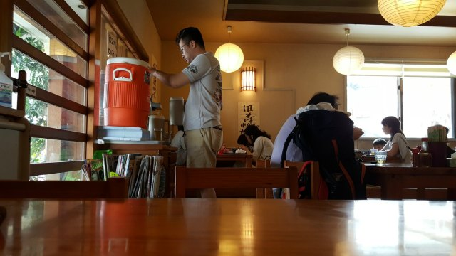 Where to Find the Best Soba in Naha Okinawa - Water Before the Meal