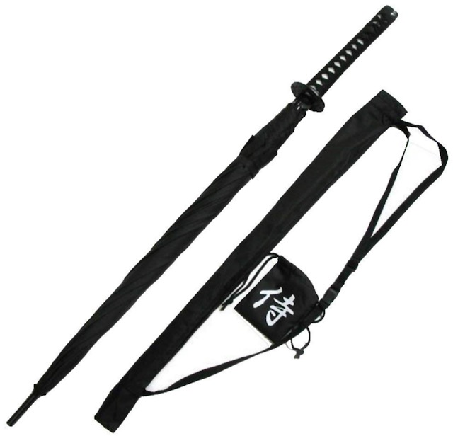 20 Holiday Gift Ideas for Japanese Culture Lovers - Samurai Umbrella
