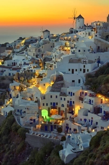 Santorini, Greece - Must Visit Romantic Places In The World