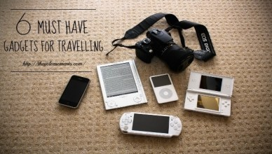 6 Must Have Gadgets For Travelling
