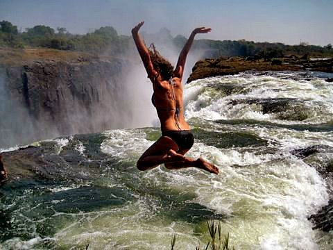Devils Pool in Victoria Falls
