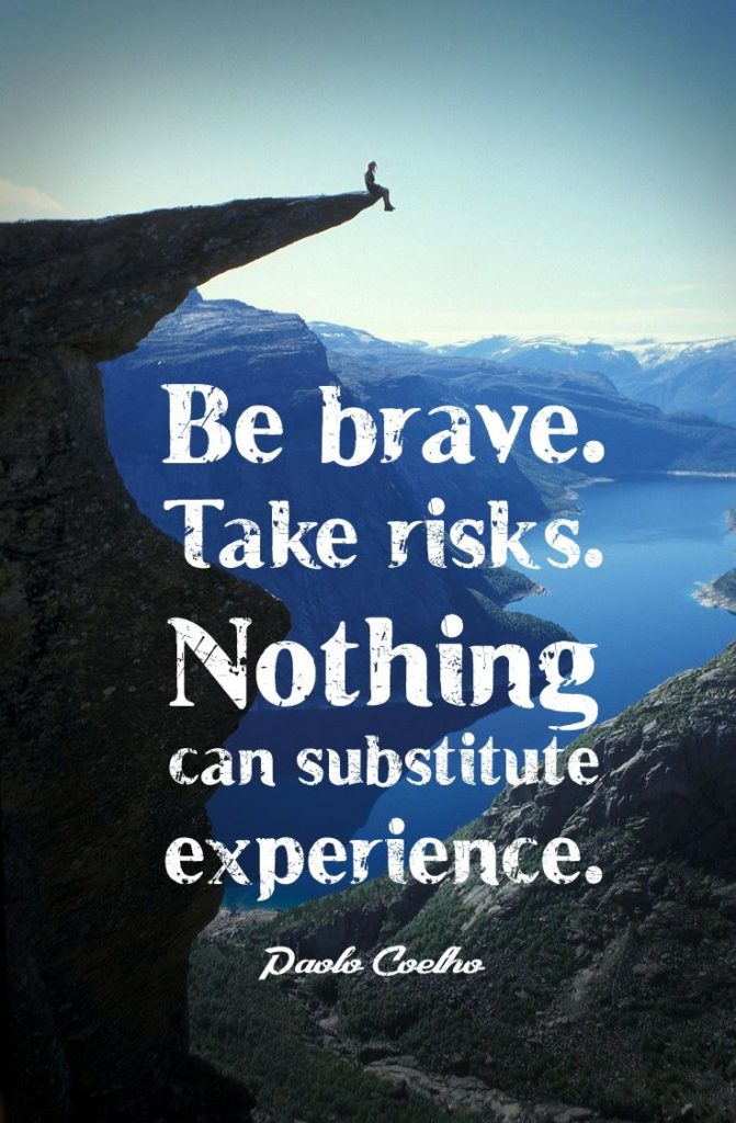 Top Paulo Coelho Inspirational Travel Quotes - Take Risk