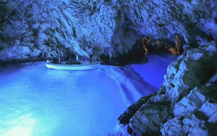 Blue Cave in Croatia