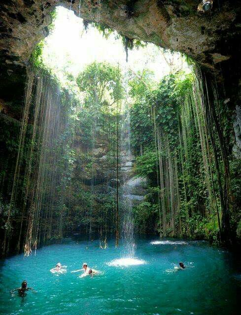 The Blue Hole Mineral Spring - Jamaica Travel Destination Photos