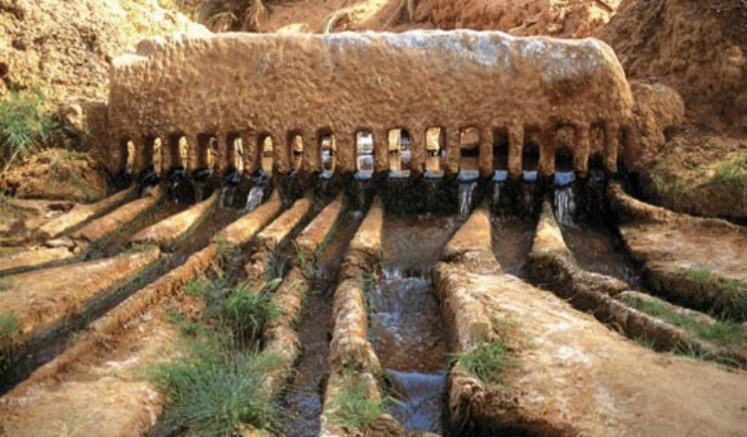 Facts About Persian Qanat Iran Heritage Site | Photo Credits To Iagua Official Website
