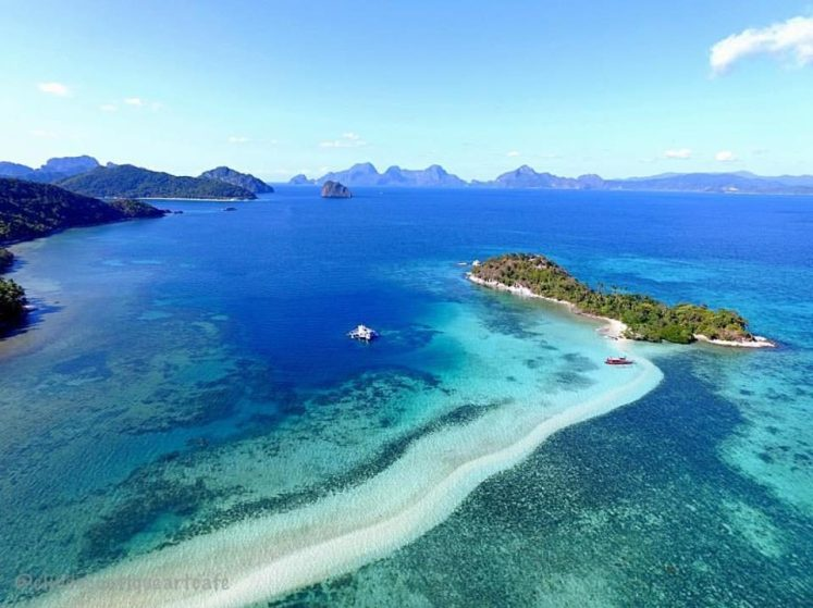 Stunning White Sand Vanishing Island In The Philippines - Snake Island In El Nido, Palawan