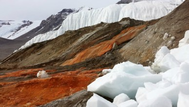 Blood Falls Antarctica Mystery - The Reason Behind The Red Vivid Water Color Revealed