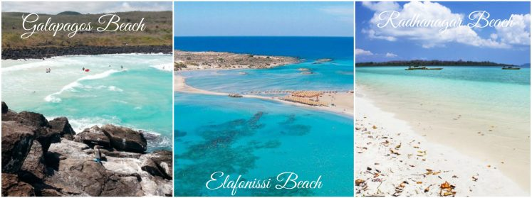 Galapagos Beach - Elafonissi Beach - Radhanagar Beach - 2017 World Top 10 Beaches According To TripaAdvisor