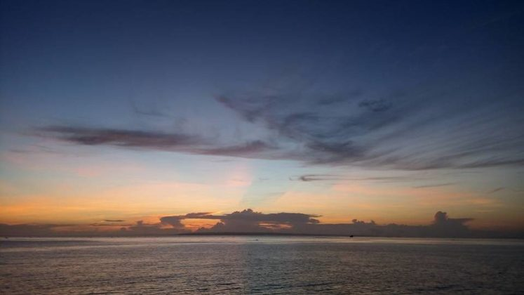 Bantayan Island Travel Guide - Sunrise On Our Way To Santa Fe