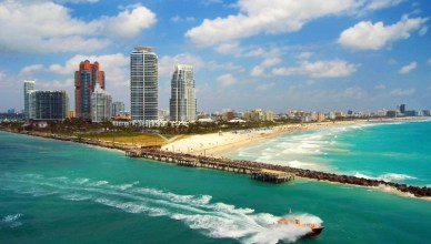 Top 5 Most Instagrammed Travel Destination In USA - South Beach Florida