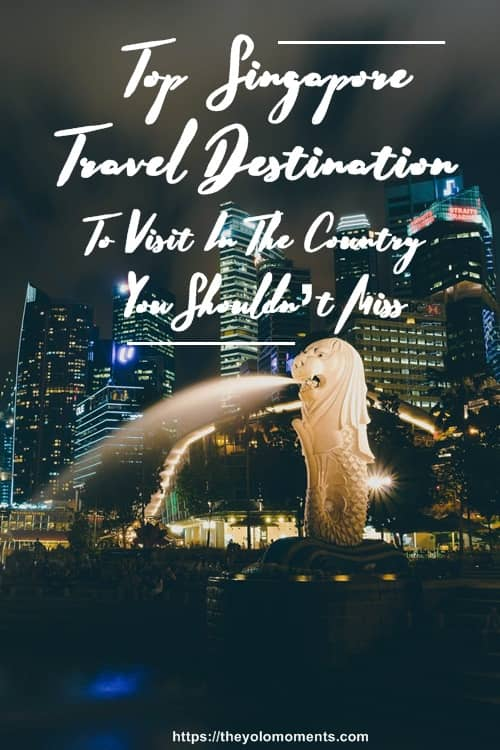 Top Singapore Travel Destination - Merlion, Marina Bay Sands, Helix Bridge, Espalanade and etc.