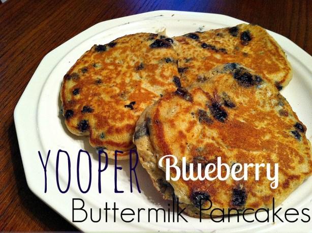 yooper blueberry buttermilk pancakes