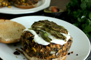 Black Bean and Sweet Potato Burgers