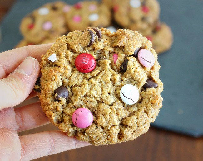 valentines day monster cookie 3