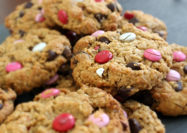 valentines day monster cookies 6