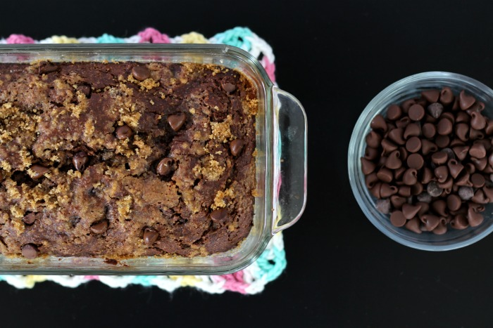 Double Chocolate Zucchini Bread and Chocolate Chips