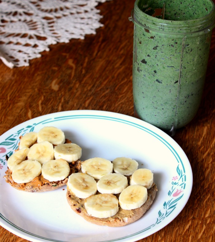 breakfast muffin smoothie