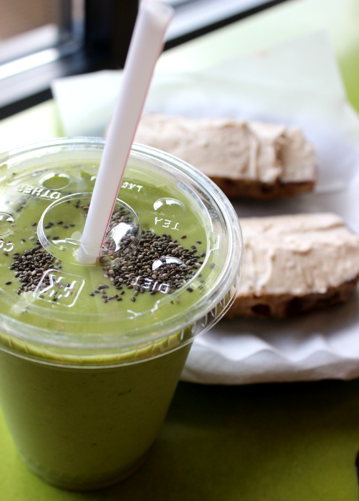 third street bagel green smoothie