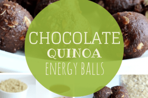 Recipe Redux: Chocolate Quinoa Energy Balls
