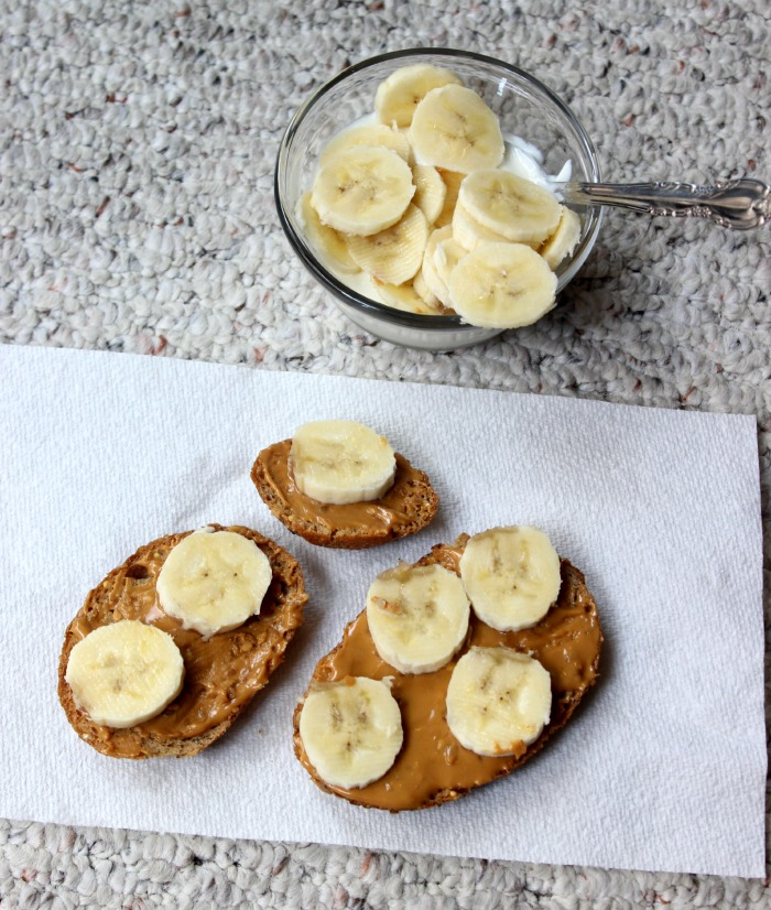 almond butter banana greek yogurt