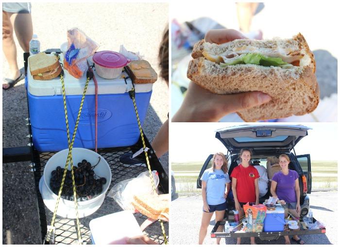 more picnicking...