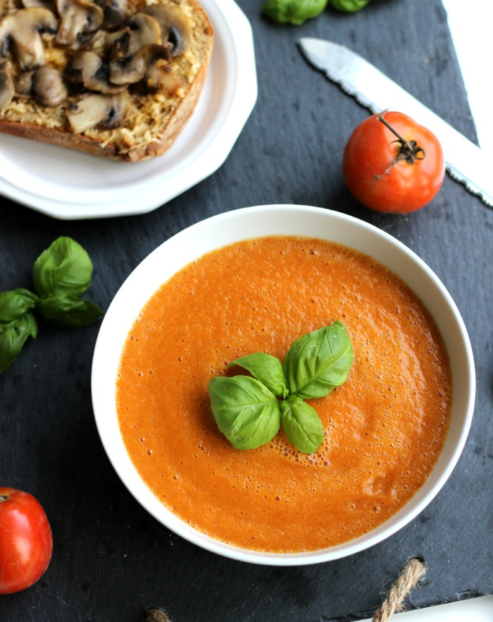Roasted Tomato Soup ~ The Yooper Girl