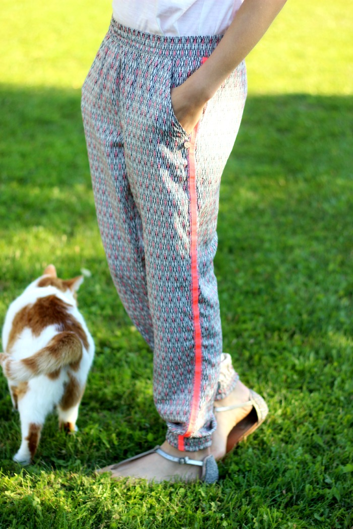 adorable silky pants