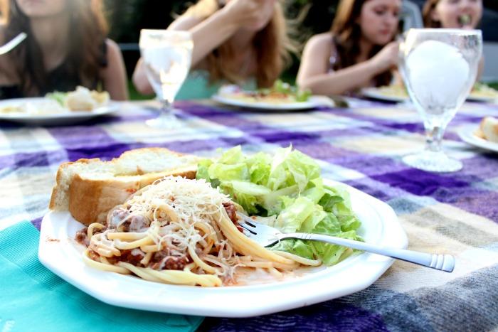 pasta picnic
