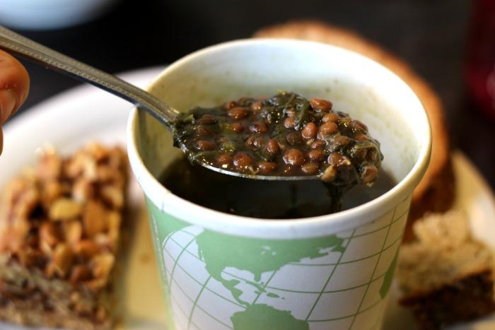 babycakes spinach lentil soup
