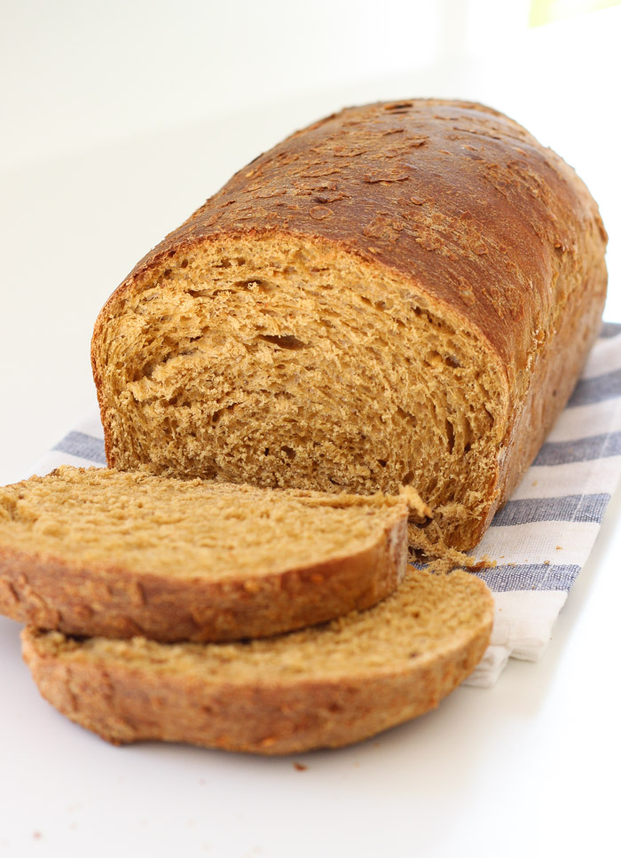 Seed and Wheat Bread with sesame and flax seeds-7