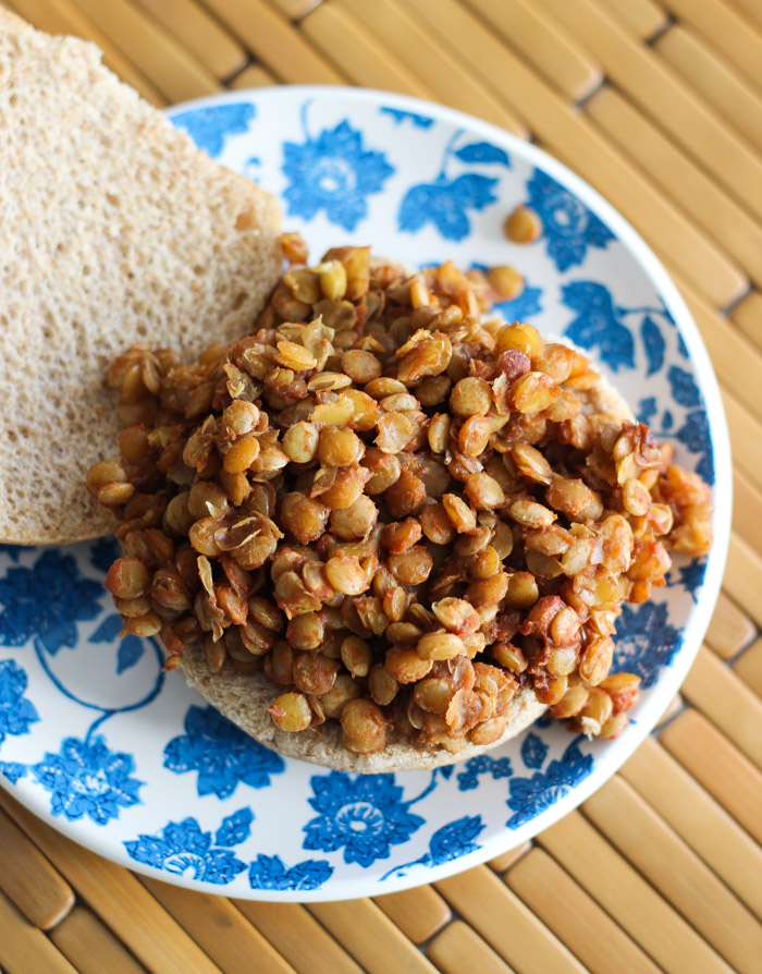 Vegan Lentil Sloppy Joes - all the flavor of traditional without the meat!-3