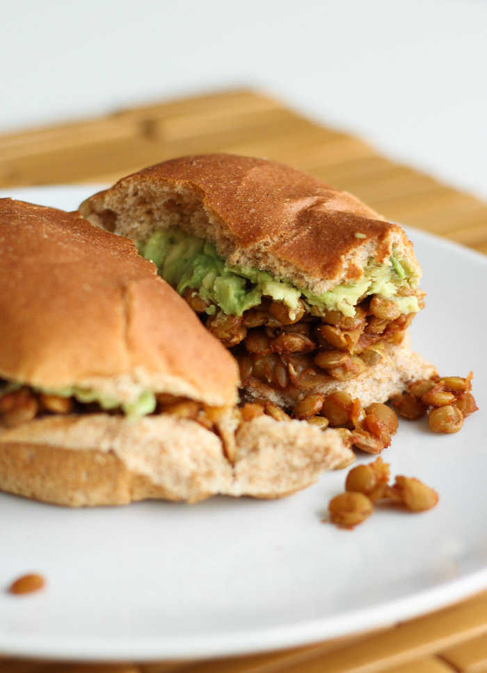 Vegan Lentil Sloppy Joes - all the flavor of traditional without the meat!-5