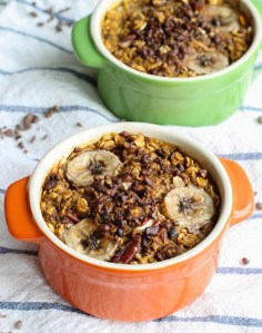 Vegan Single Serve Pumpkin Oatmeal Bake