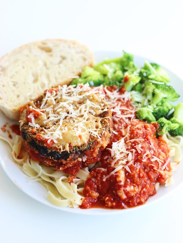 Healthy-Eggplant-Parmesan-on-theyoopergirl.com