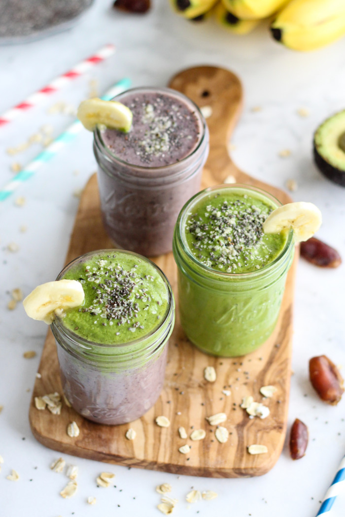 Healthy Acai and Green Warrior Smoothie - loaded with antioxidants and so good for you! | The Yooper Girl-4