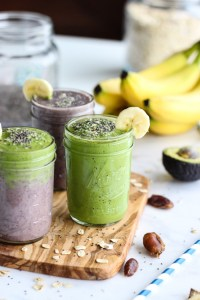 Açaí and Green Warrior Smoothie