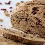 Whole Wheat Cranberry Walnut Bread (vegan!)