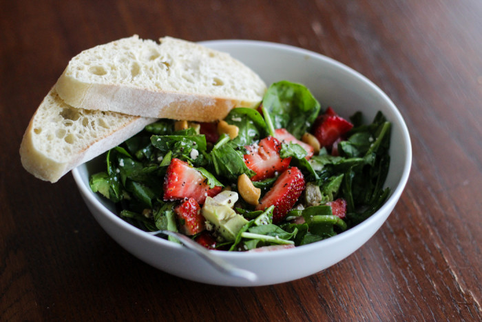 strawberry avocado cashew avocado salad-2
