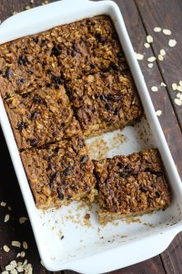 Oatmeal Freekeh Breakfast Bake